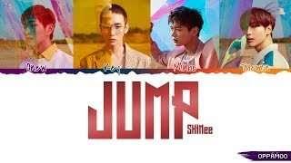 Shinee 샤이니 - 'jump' S Color Coded Han-rom-eng