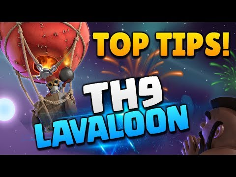 TOP TIPS for TH9 LAVALOON in Clash of Clans!