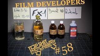 Film developers D-76, Rodinal, FX-1 and Pyrocat HD / Vlog 58