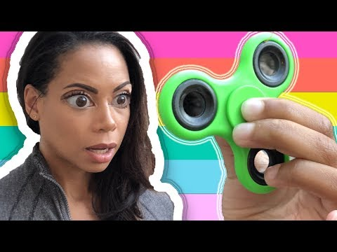 Toy Magic! Naiah Hypnotized Mommy with a Magical Fidget Spinner and It Worked!
