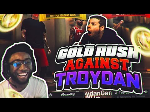GOLD RUSH AGAINST TROYDAN!! WINNER GETS UNLIMITED BOOSTS GONE WRONG ! NBA 2K19