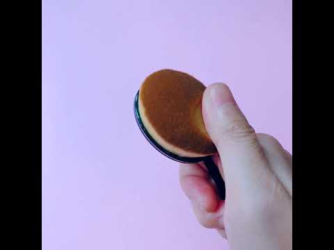 Oval Shaped Makeup Brush