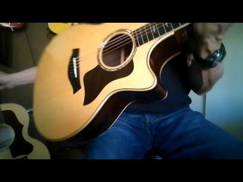 Gibson J185 Quilt Vs  2014 Taylor 814CE