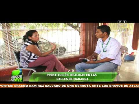 Prostitución, una realidad en calles de Managua
