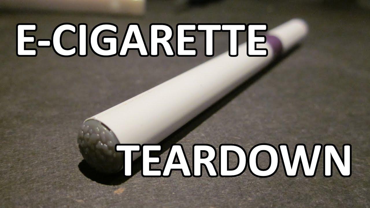 Tinman Electronics 8 - Disposable e-cigarette teardown