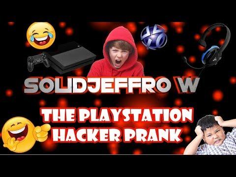"The Playstation ""Hacker"" Prank"
