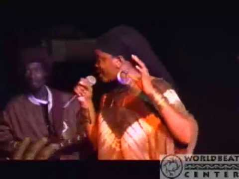 Dezarie Live at the World Beat Center in 2008, includes Move Militant!