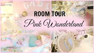 MY 2015 HOLIDAY ROOM TOUR | PINK WONDERLAND