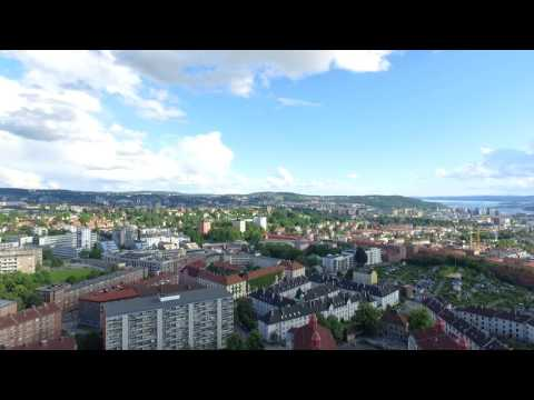 Panorama POI Oslo seen from Torshov Phantom 3 4K drone
