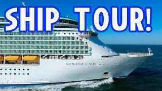 Navigator of the Seas Ship Tour