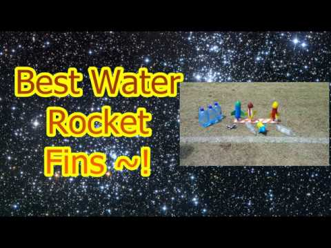 BEST Water Rocket Fin Designs!!