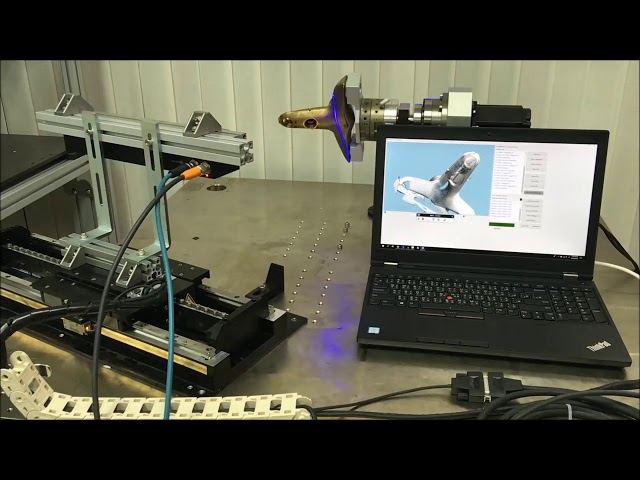 3D Modeling Using QuellTech Laser Scanner for Water Tap - Solution Made by Quadrep