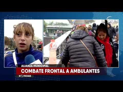 Independencia y Santiago declararon la guerra a vendedores ambulantes