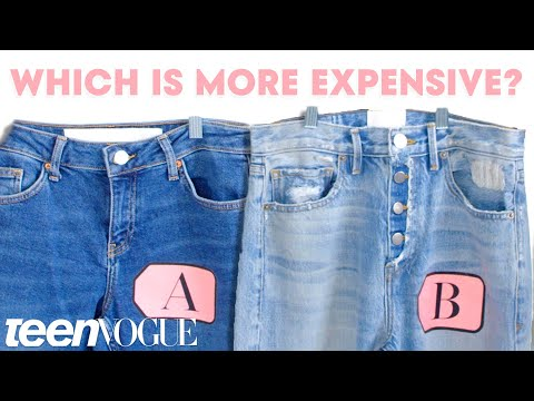cheap-vs.-expensive-jeans---what's-the-difference?-|-teen-vogue