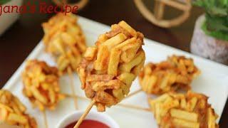 ফ্রেন্স ফ্রাই চিকেন স্টিক রেসিপি/চিকেন স্টিক রেসিপি/রমজান রেসিপি ২০১৮/French Fry Chicken Sticks.