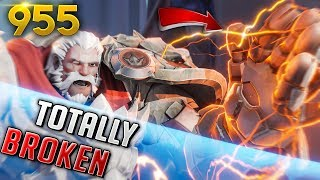 *NEW* REINHARDT IS ABSOLUTELY OP!! | Overwatch Daily Moments Ep.955 (Funny and Random Moments)