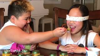 Baby Food Challenge Fun by Ace and Tiara | TigerFamilyLife~
