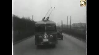 Первые троллейбусы. Москва. 1933 год