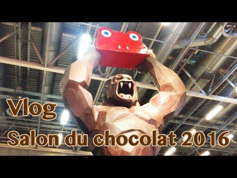 Vlog salon du chocolat 2016