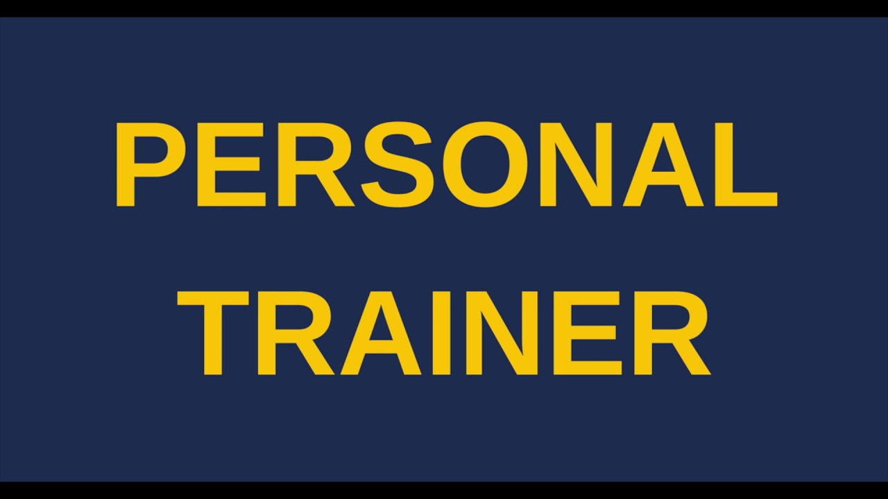 Affordable Personal Trainer Certification Youtube