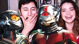 ANT-MAN & THE WASP | Official Trailer | Reaction!