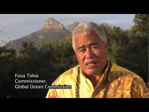 Foua Toloa, Global Ocean Commissioner