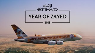 Year of Zayed 2018 | Etihad Airways