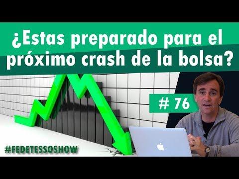 # 76 - ¿Estás preparado para el próximo crash de la bolsa?