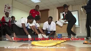 Samuel Ngoye, Student, EMT, Kenya Red Cross Training School