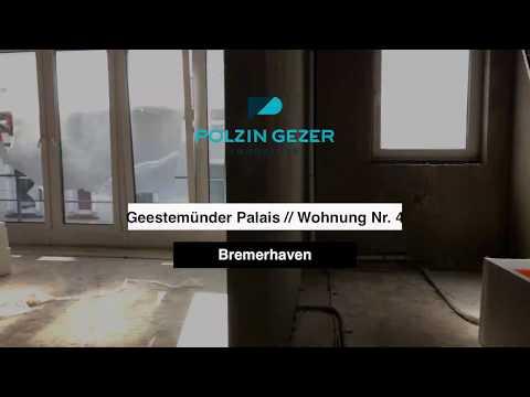 Geestemünder Palais // Moderne 2-Zimmer Wohnung Mit Balkon