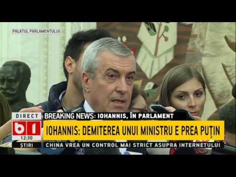 Reactii dupa discrusul lui Klaus Iohannis 07 02 2017