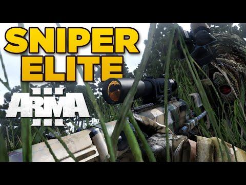 SNIPER ELITE | Arma 3 - Levelcap & LT [JSRS3 Dragonfyre]