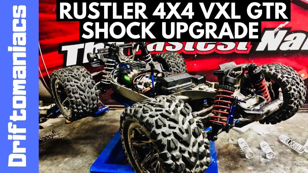 Traxxas Rustler 4x4 VXL GTR Shock Upgrade