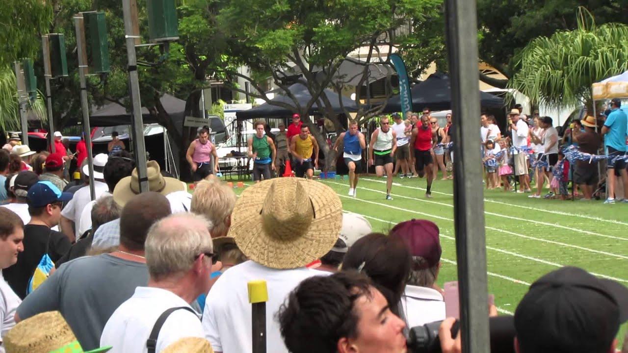 120m Jordan Caldow Griffith Uni Gold Coast Australia Day Gift 2015 Youtube