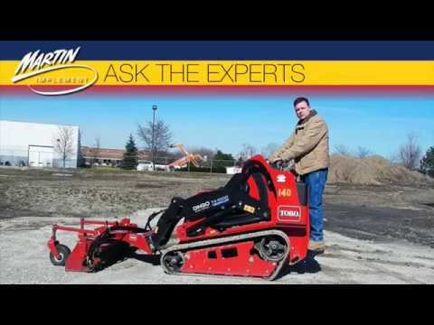 Ask the Experts: What Should I Know About Operating a Toro Dingo TX1000  Compact Utility Loader?