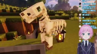 【Minecraft】逃げられない戦いがあった【夕陽リリ】