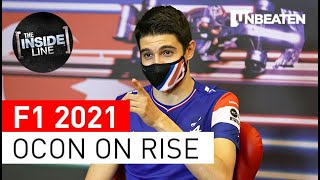 The 2021 rise of Esteban Ocon at Alpine F1 Team.