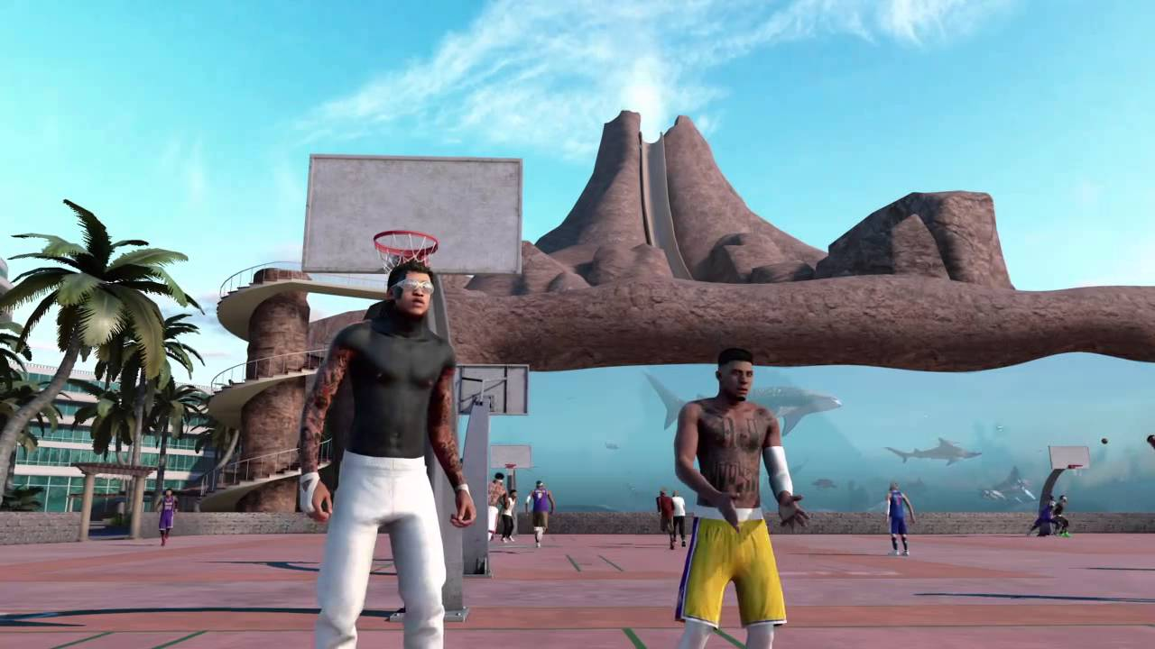 6a3b7943983d90 NBA 2K16 Mypark - Im cash cuz I can Splash
