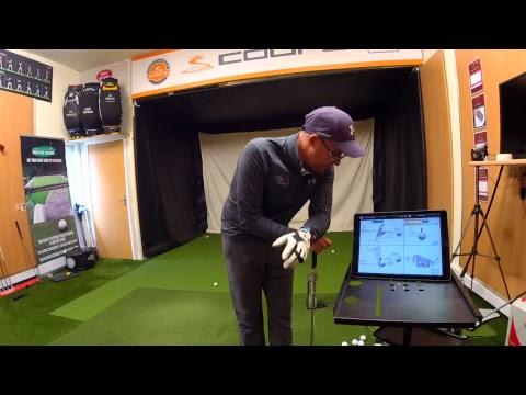 Live Swing Plane Golf Lesson