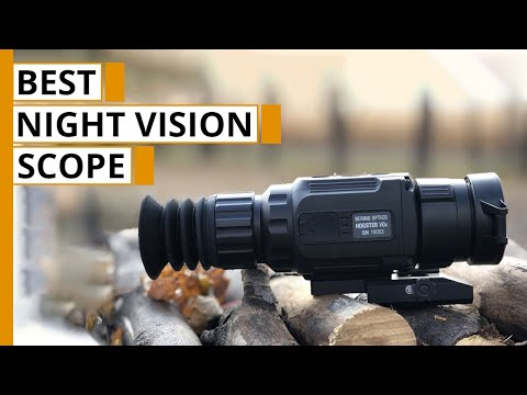 5 Best Night Vision Rifle Scopes | Thermal  Scope For Hunting