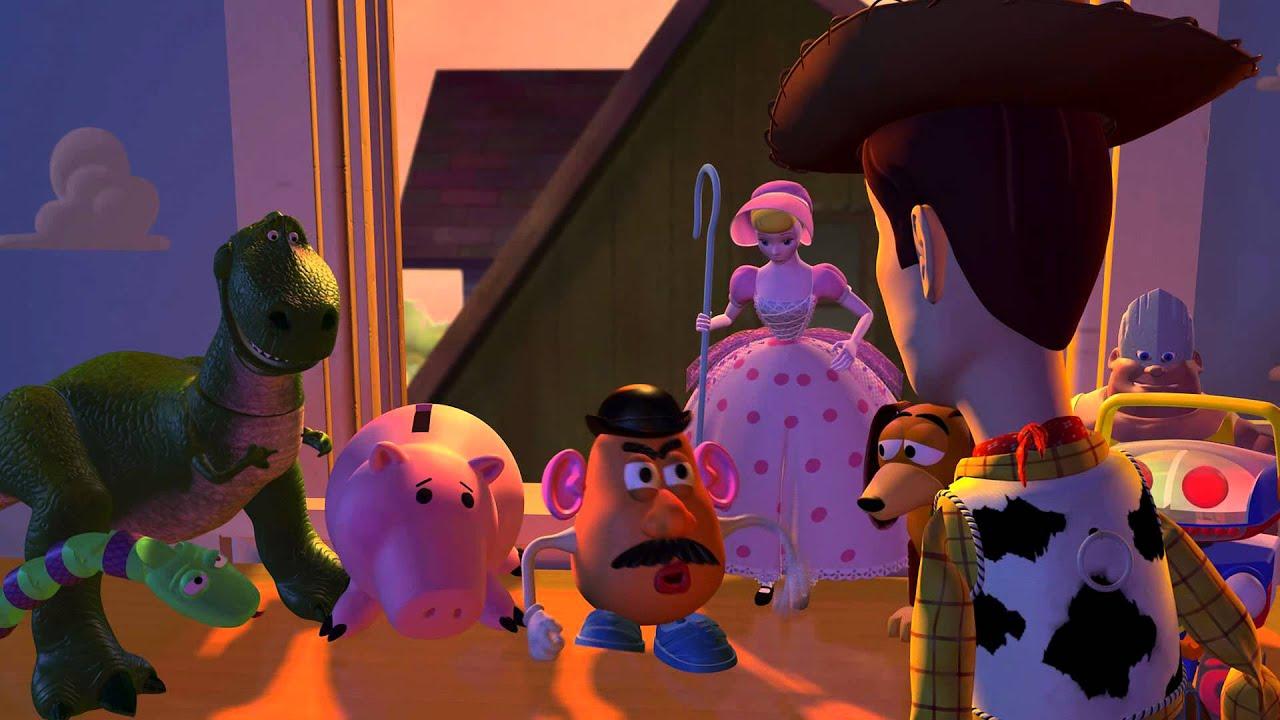 Toy Story 1 - L'Accident (Scène Culte) - YouTube