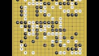 囲碁棋譜再現:第十五回理光杯個人戦第1局 黒:廖行文 (五段) vs 白:謝赫 (九段)