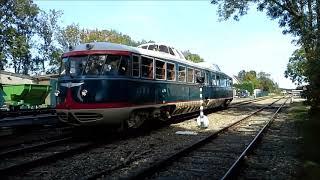 Dieseltreinstel De Kameel te gast bij Stoomtrein Goes Borsele op dieseldag 2018