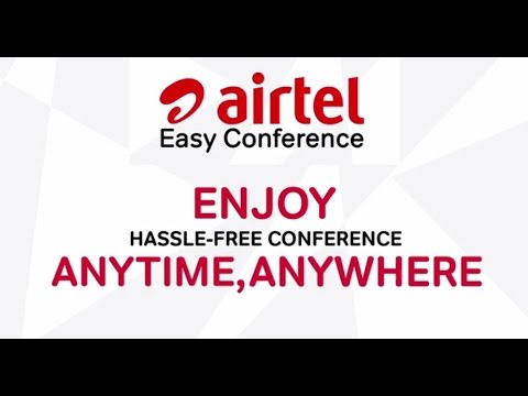Airtel Easy Conference Feature