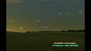 Simulazione Ultima Eclissi Totale Di Sole: Italia