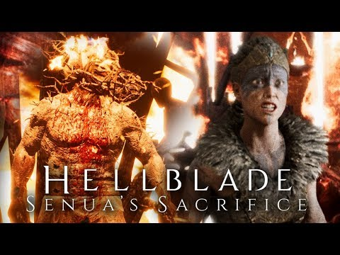 БИТВА С БОГОМ ОГНЯ - Hellblade: Senua's Sacrifice #2