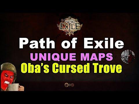 OBA's CURSED TROVE Unique Map in Path of Exile
