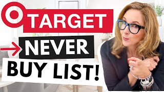 What to NEVER EVER EVER buy at TARGET! (and what to get instead)