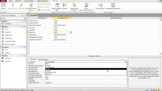 Datenbanken mit Microsoft Access 4 - Tabelle: Zahlen Feld Erstellen & Formate