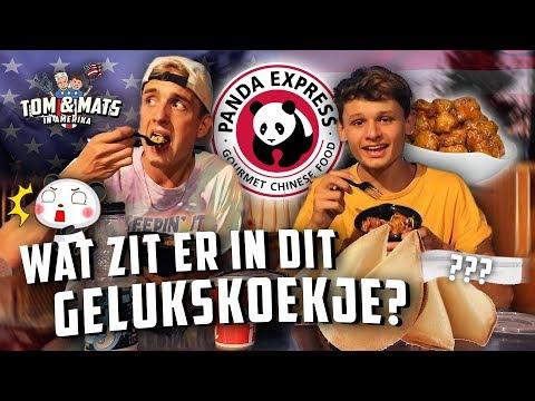 WIJ TESTEN PANDA EXPRESS FAST FOOD! 🐼🥠    Tom & Mats in Amerika #11